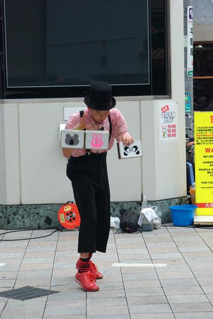 サンデー大道芸 みの吉さん