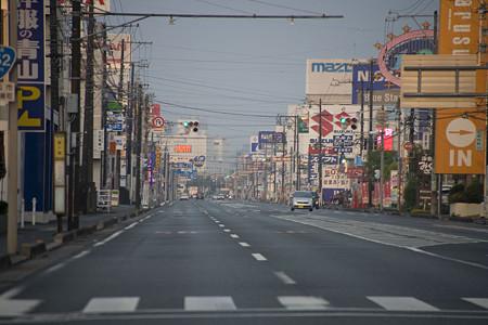 国道152号 浜松 自動車街