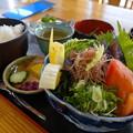 Photos: カツオの塩たたき定食(道の駅・ビオスおおがた【高知】)