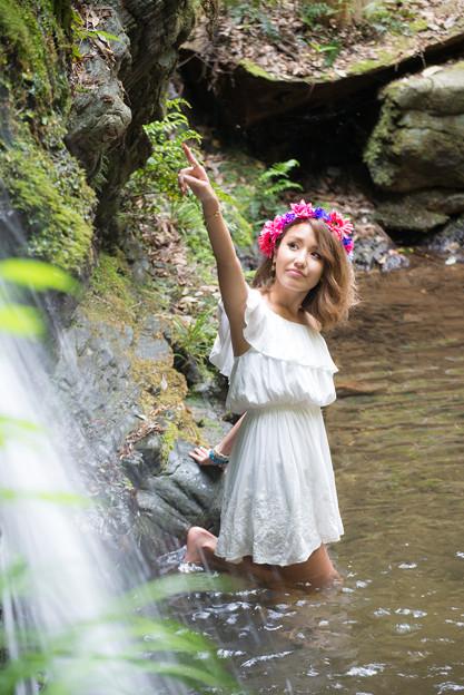 旅の途中 加藤澪 滝沢の滝3