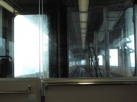 マリンライナーが瀬戸大橋を渡る この後、岡山まで戻りさらに大阪の弁天町に向かった