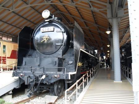 C62 26 蒸気機関車の中で一番大きな機関車である