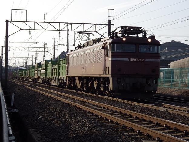 EF81‐742牽引 1658レ