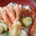 Photos: 遅い昼食 海鮮丼です