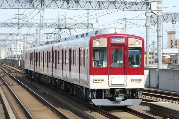 近鉄2050系(近鉄名古屋線)(2009年3月撮影)
