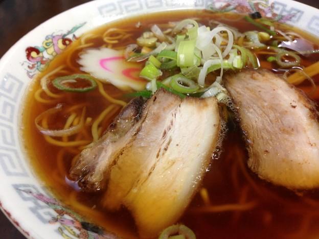 Photos: ラーメン 麺顔アップ