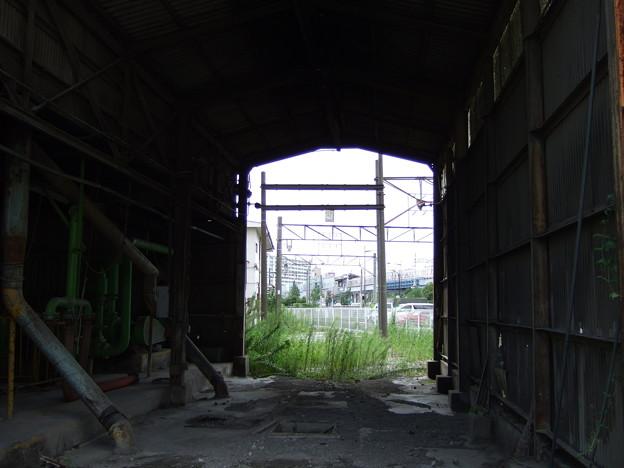 南千住・隅田川駅・セメントサイロ(2007/9)
