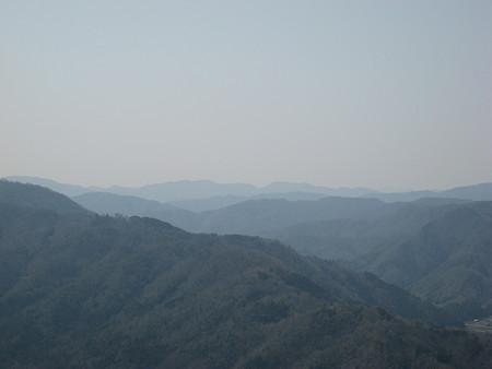 ハンググライダーのフライト場からの景色